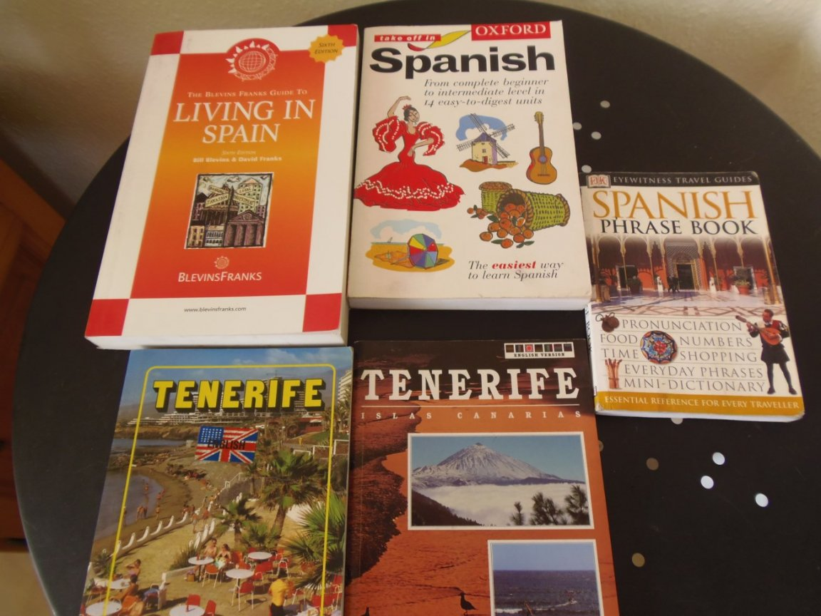 Books about Tenerife and Spanish Language