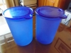 2 x Blue Kitchen Storage Containers