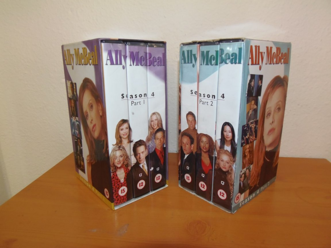 Video Box Set - Ally Mcbeal - series 4