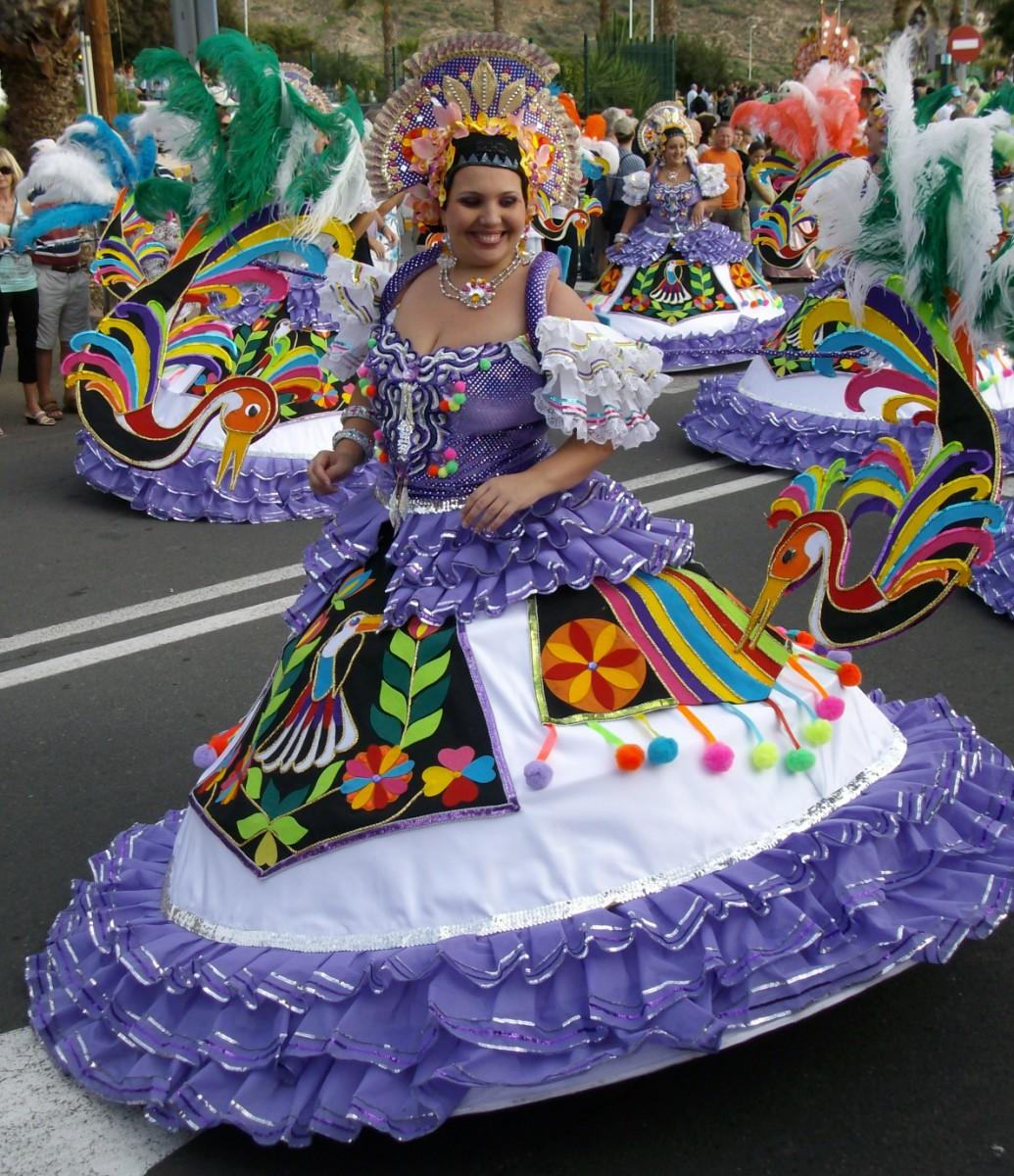 Carnaval in Los Cristianos, Tenerife - March 2010