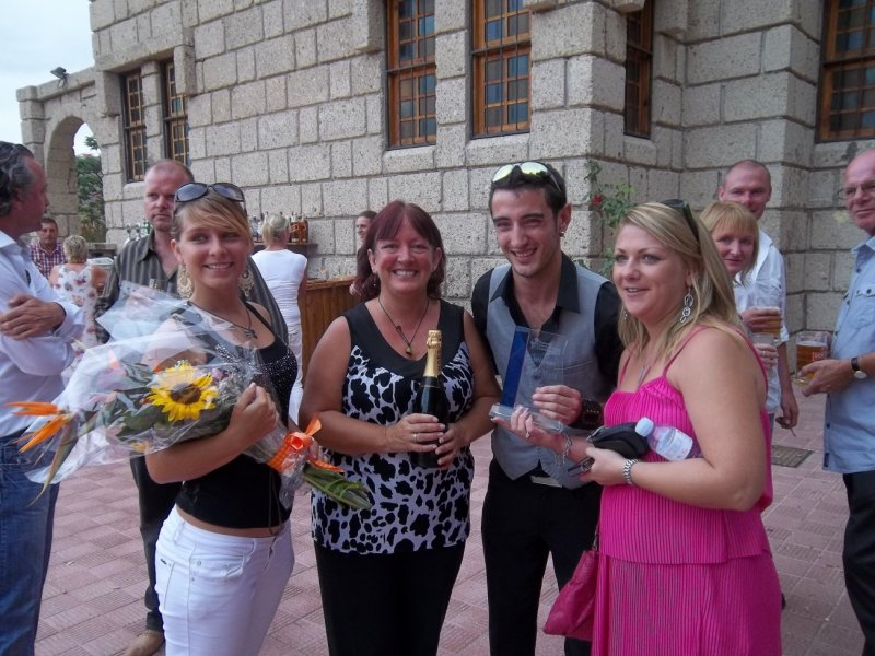 Elinor, Mum, Simply Mo and Claire