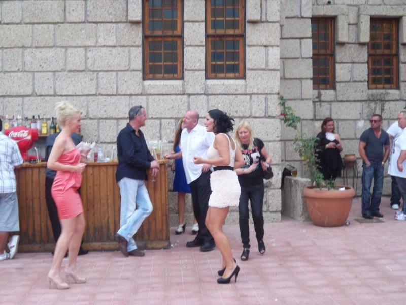 Dancing in the Courtyard