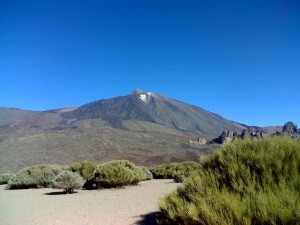 Teide, where The Challenge will start!