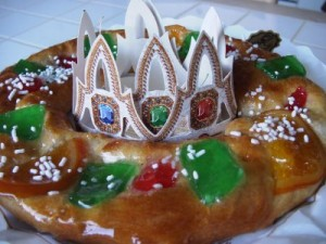 Traditional Cake for the Three Kings in Tenerife