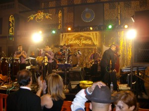 Dancing to the Live Band in Los Cristianos
