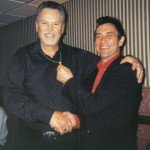Multi Tribute Artist Jesse Garon with Sonny West