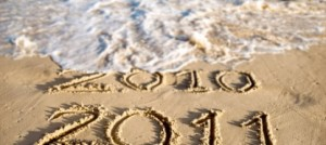 Happy New Year from The Beach in Tenerife