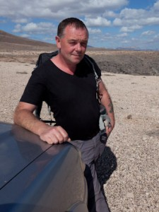 Alan Gandy - Walking the seven Islands for Charity