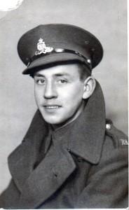 Gunner Edward Chute - Royal Artillery