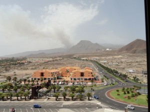 Tenerife Forest Fire, Ifonche area 15.07.2012