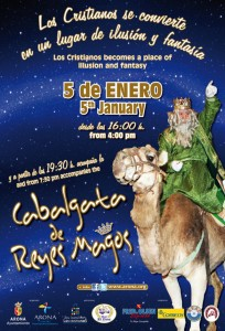 Watch the Three Kings Day Parade in Los Cristianos, Tenerife