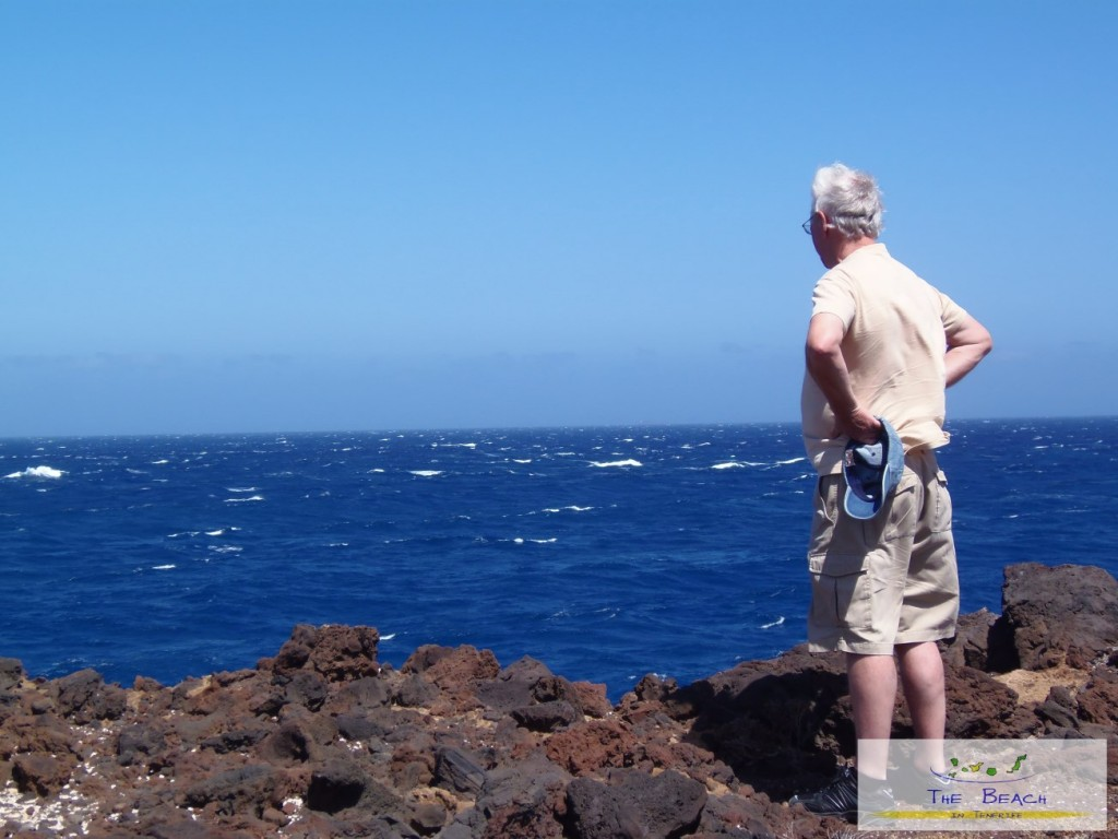 Mr West Looking East on a visit to Tenerife