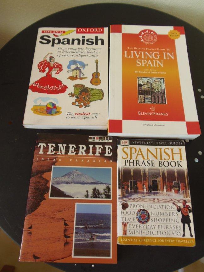 Books about Tenerife and Spanish Language