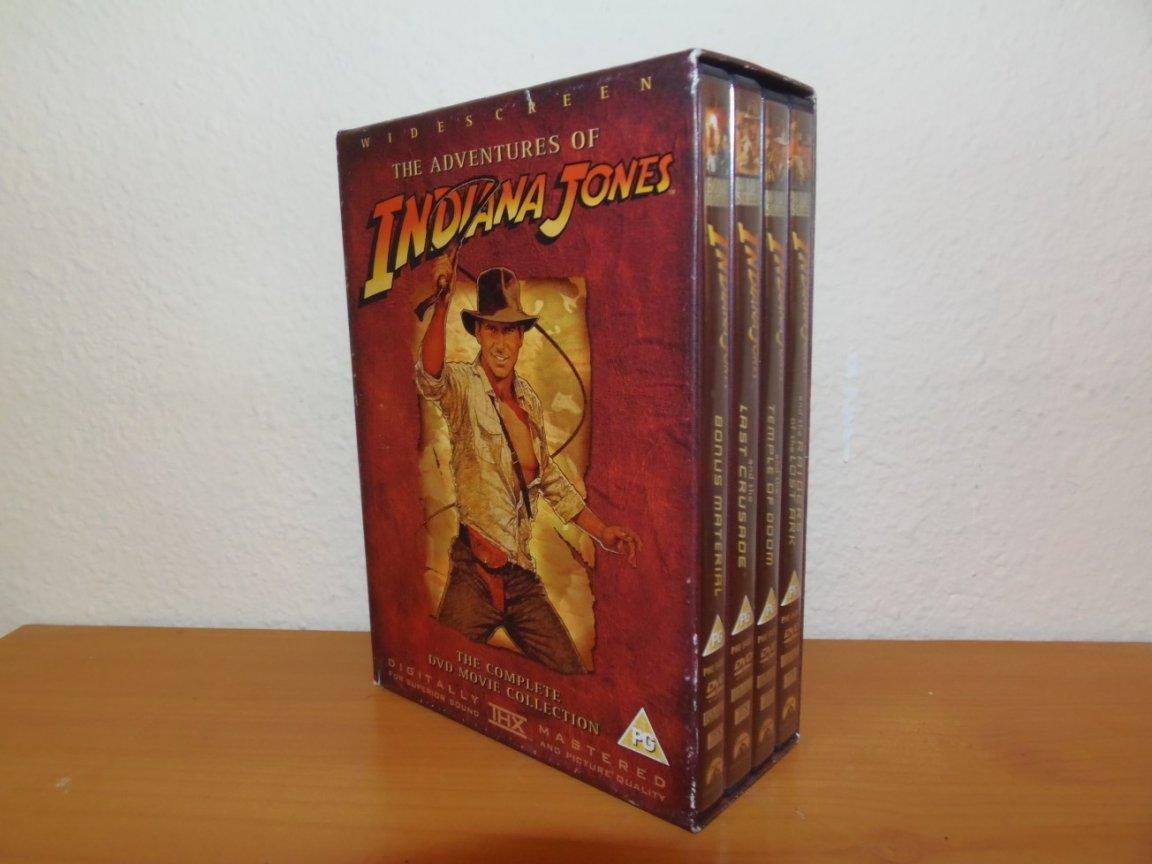 DVD Box Set - Indiana Jones