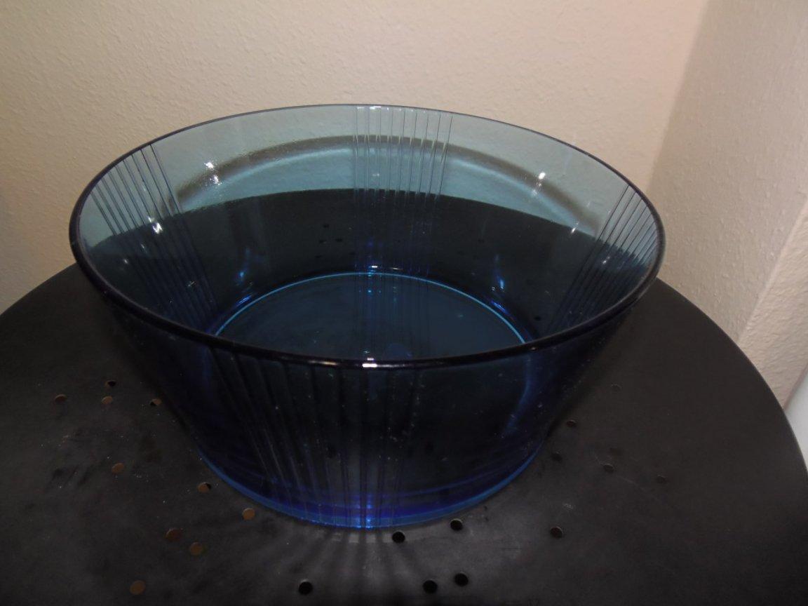 Glass Bowl - Blue