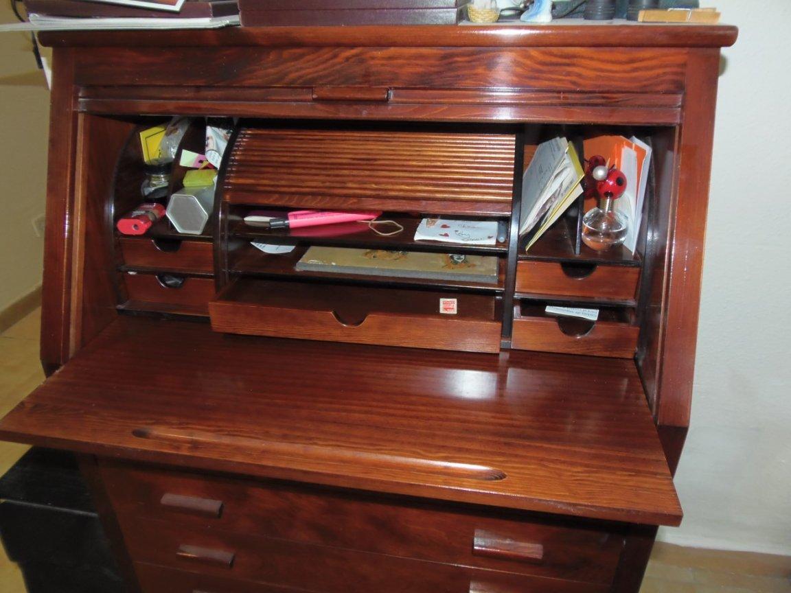 Roll Top Bureau Desk - Image 2
