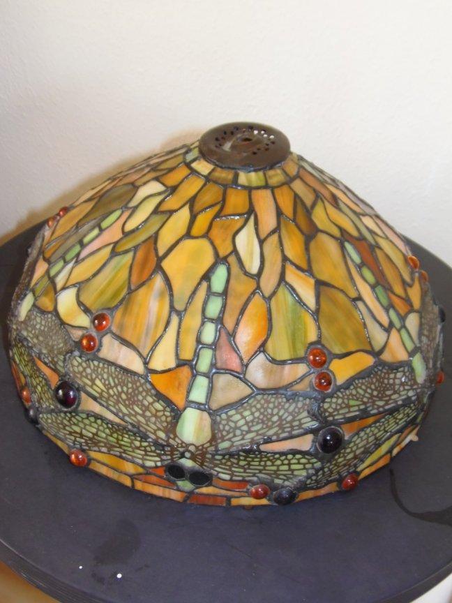 Tiffany Lampshade (damaged) - Image 1