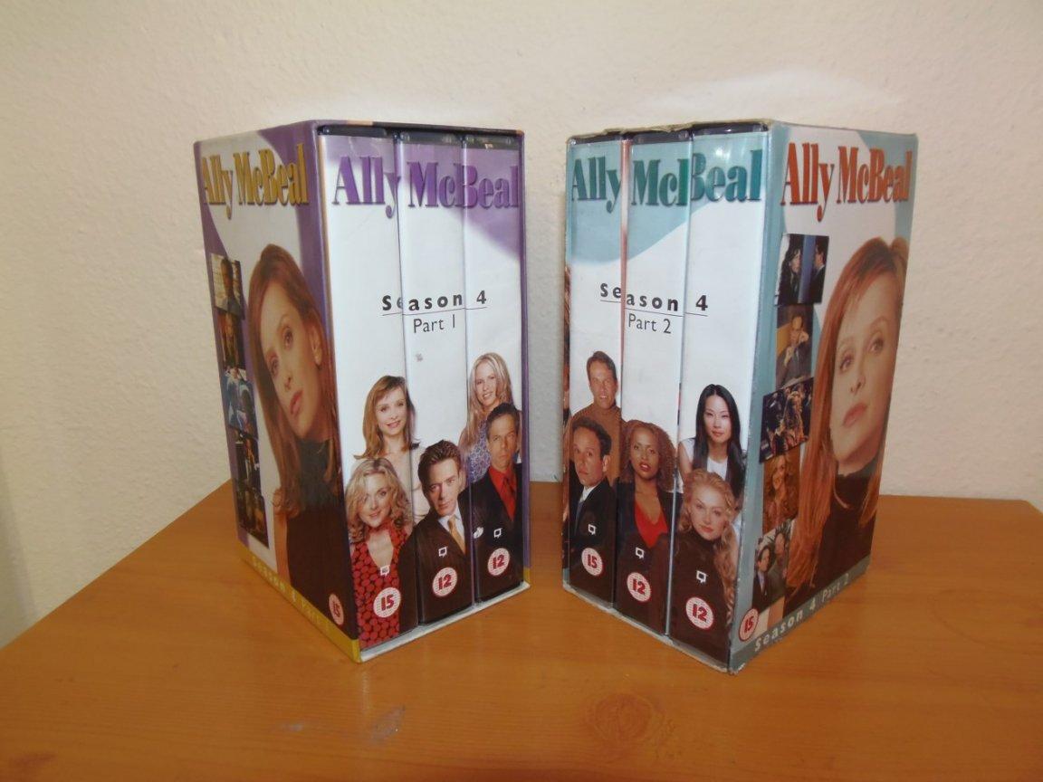 Video Box Set - Ally Mcbeal - series 4