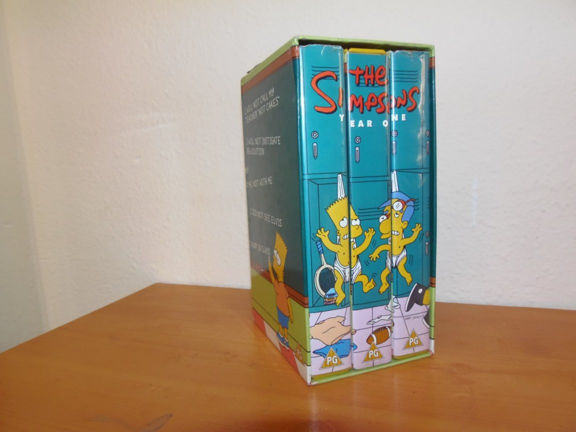 Video Box Set - The Simpsons - series one
