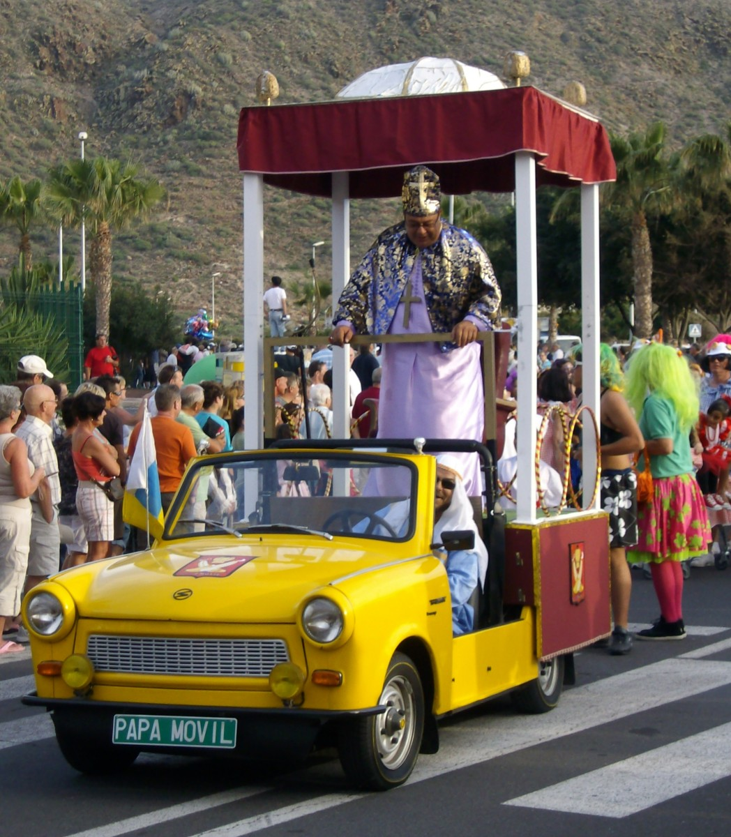 Carnaval in Los Cristianos, Tenerife - March 2010