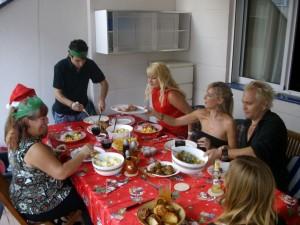 Christmas Dinner in Tenerife 2009
